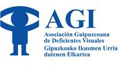 logo AGI. Asociación Gipuzkoana de Deficientes Visuales