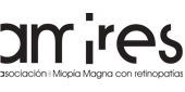 Logo AMIRES. Asociación Miopía Magna con Retinopatías