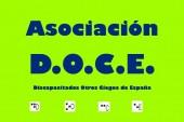Logo Asociación DOCE. Asociación para la Defensa de la Discapacidad Visual, Baja Visión y Ceguera Legal