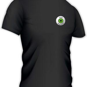 Camiseta con logo pequeño en castellano