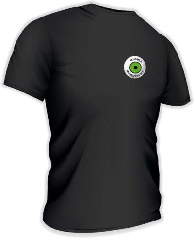 Camiseta con logo pequeño en euskera