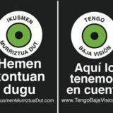 """Se dan por finalizadas las sesiones sobre la Retinosis Pigmentaria y """"Tengo Baja Visión"""" en las Ikastolas de Mondragón y Aretxabaleta"""