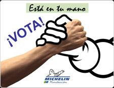 """Campaña solidaria """"Está en tu mano"""" de Fundación Michelin"""