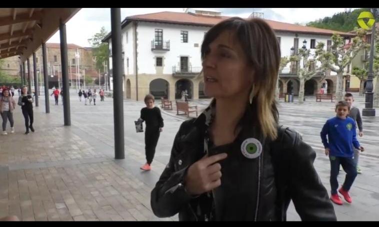 Amaia Gereñuk Goierri Irrati Telebistari eskainitako elkarrizketa