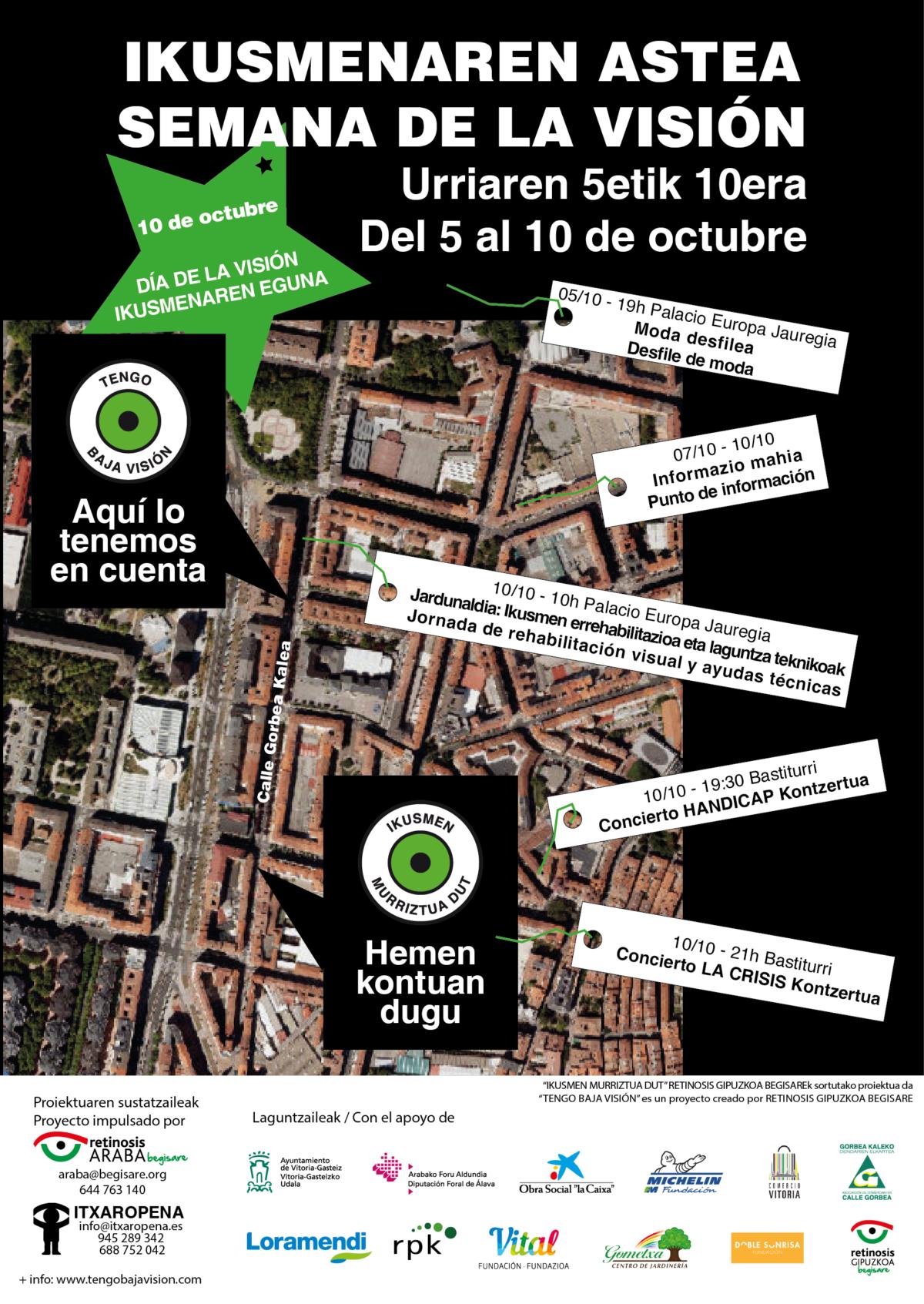 Semana de la Visión en Vitoria-Gasteiz