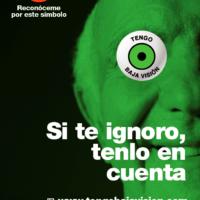 Lanzamiento estatal del distintivo TENGO BAJA VISIÓN para reconocer y comprender a las personas con discapacidad visual