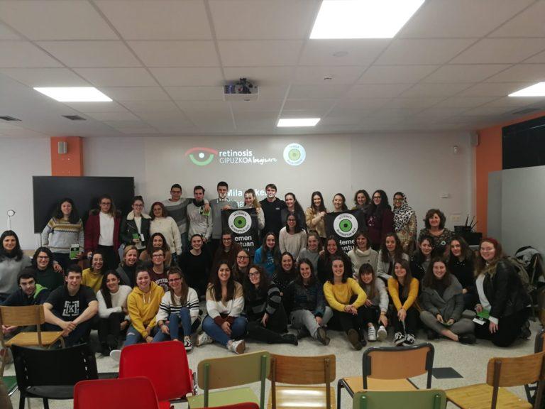 Begisare ha realizado una sesión de formación en Inmakulada Lanbide Ikastola de Tolosa