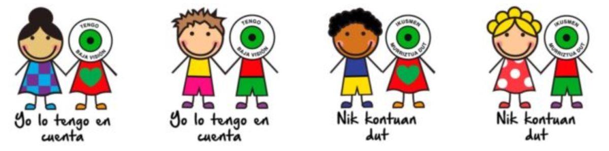 ¡Ya están disponibles las chapas solidarias de TENGO BAJA VISIÓN – YO LO TENGO EN CUENTA!
